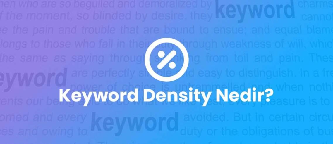 Keyword Density Nedir?