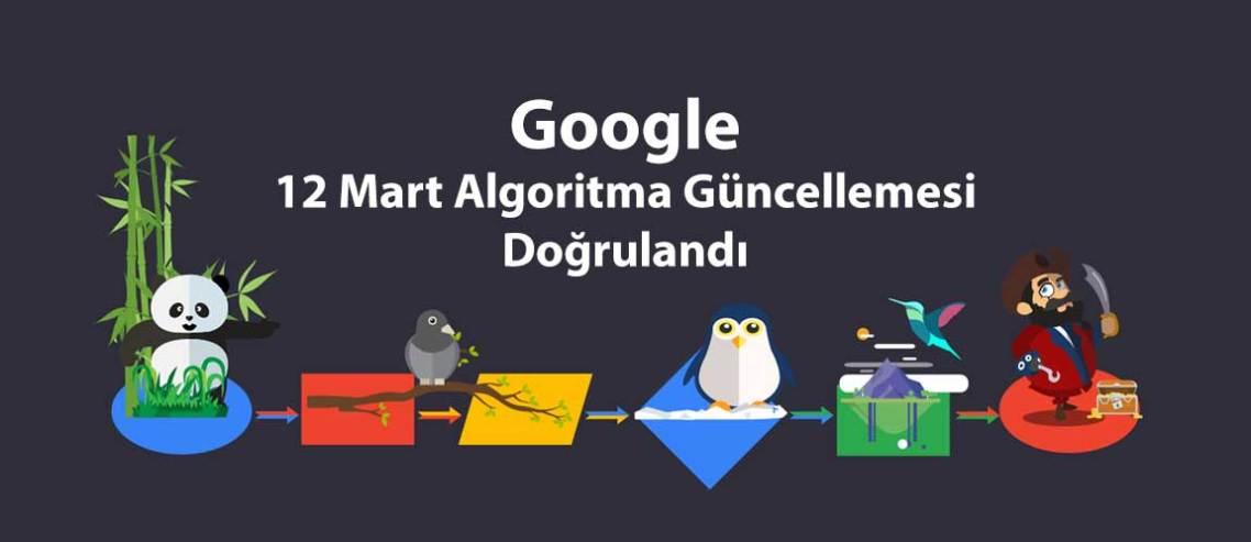 Google 12 Mart Algoritma Güncellemesi