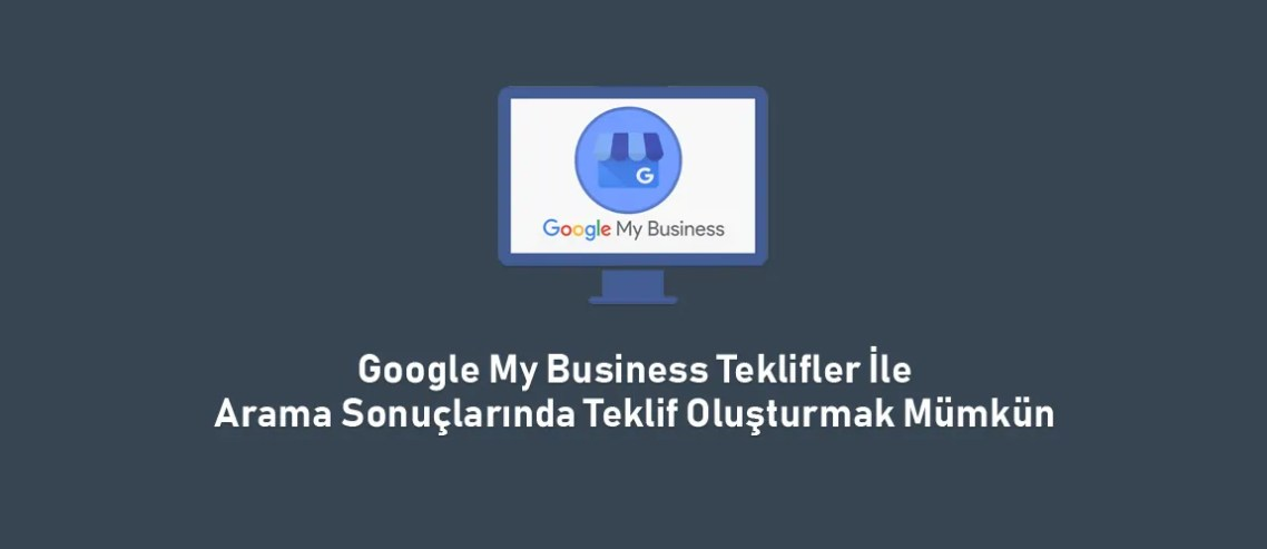 Google My Business Teklifler