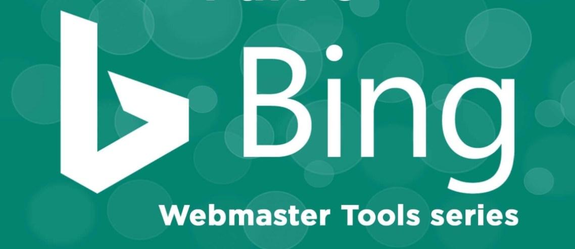 Bing Webmaster Tools site doğrulaması
