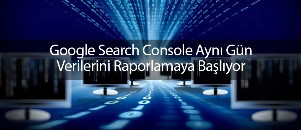 Google Search Console aynı gün verileri
