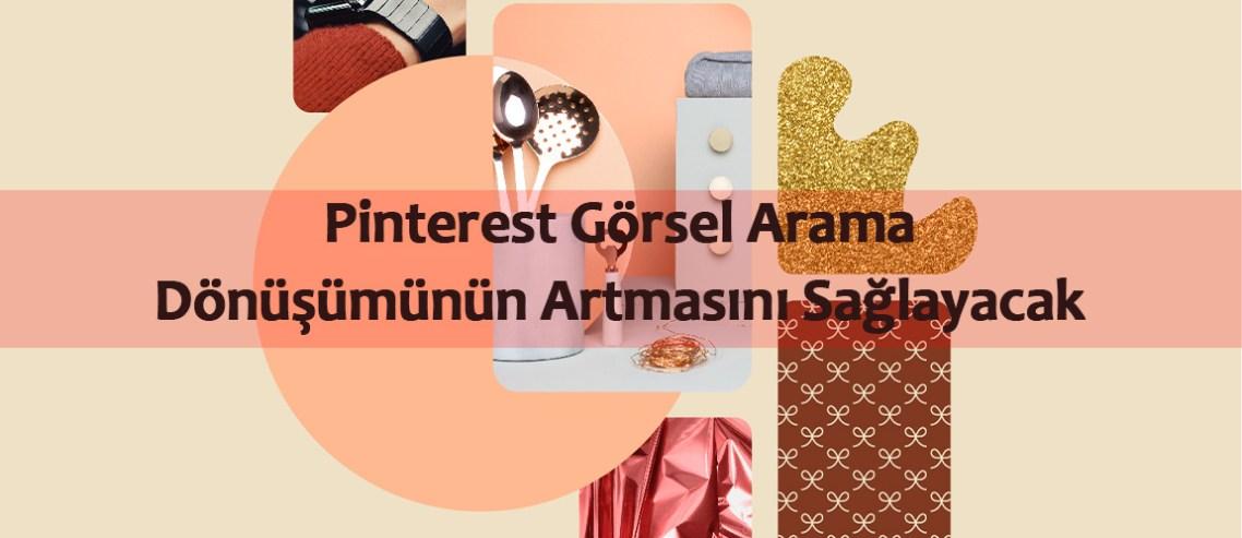 Pinterest görsel arama alışveriş