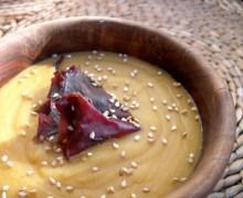 Purè di lenticchie rosse