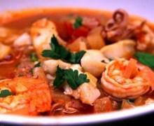 Zuppa di pesce senza lische