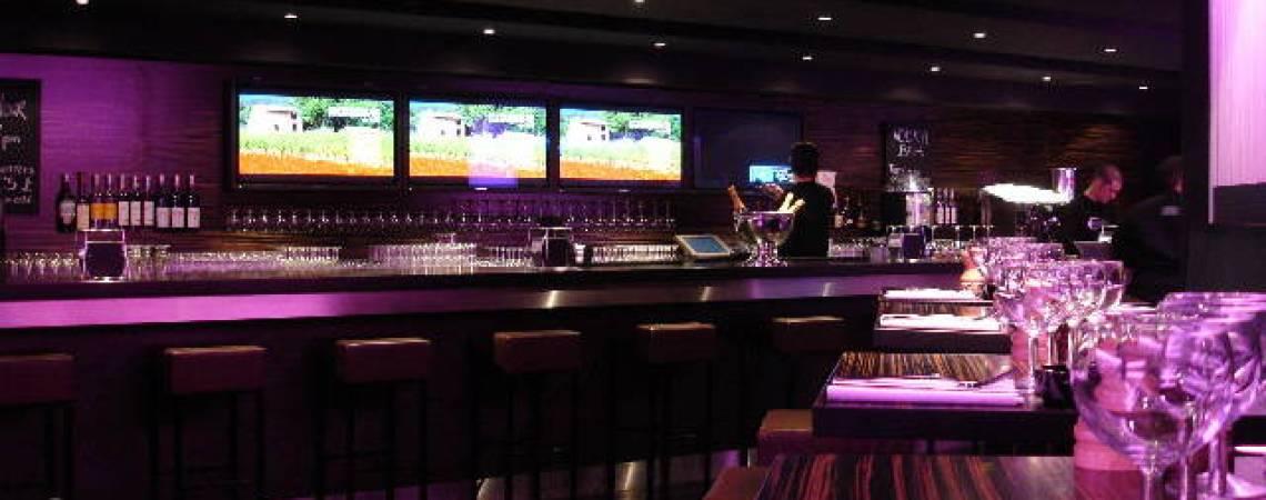 Agencement d\'un bar à Londres - Aranda-Mas