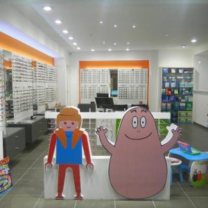 Agencement Opticien