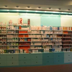 Présentoir pour produits homéopathiques