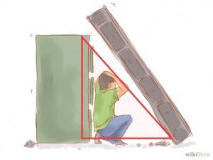 triangle de la vie lors d'un tremblement de terre
