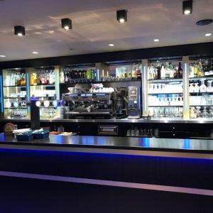 Comptoir de bar du Cyrano