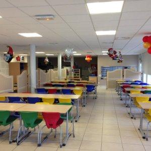 salle de restaurant de l'école internationale