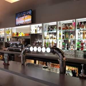 arrière bar lumineux pour le centre de loisirs dix31