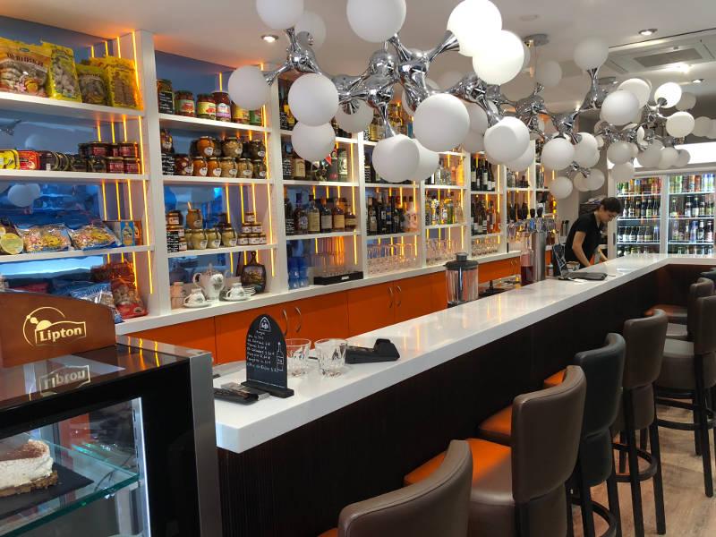 Comptoir de bar