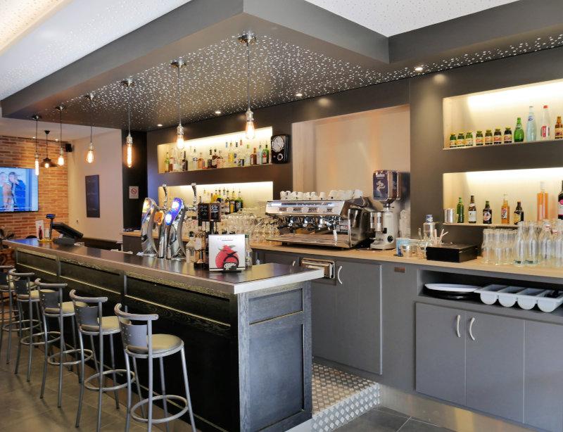Bar Aranda-Mas pour la brasserie La Renaissance dans le Tarn