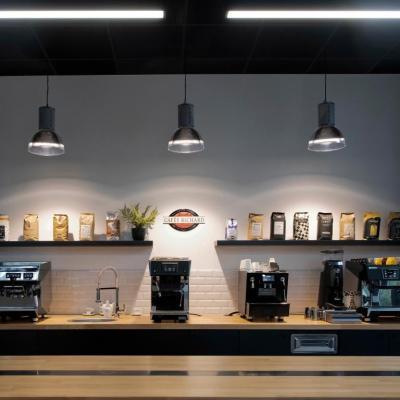 Agencement du nouveau showroom de Cafés Richard