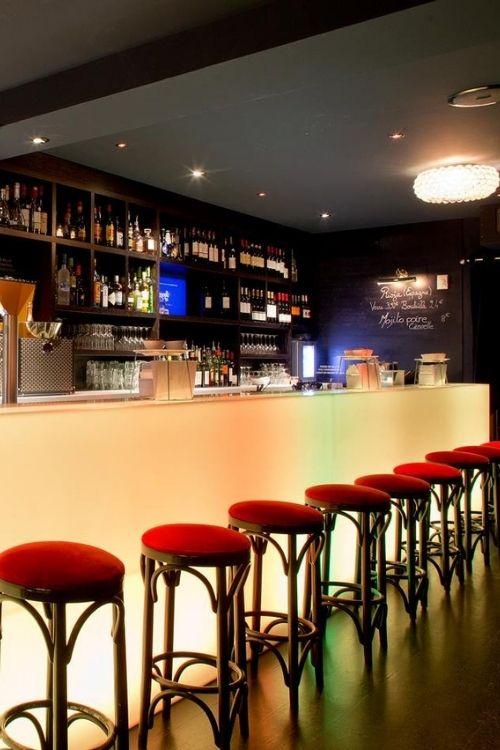 Comtpoir de bar en Corian