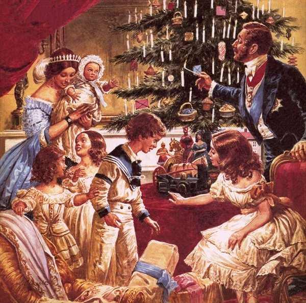 victoria queen of christmas - Navidad en la época victoriana