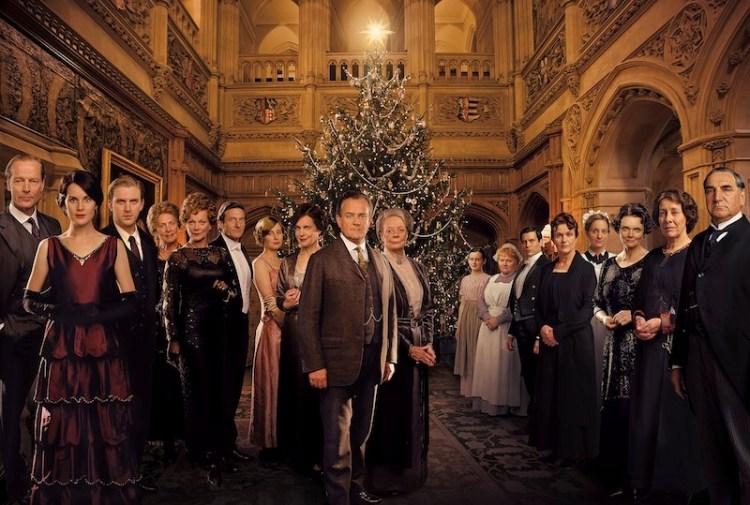 Series y películas de Navidad: Downton Abbey