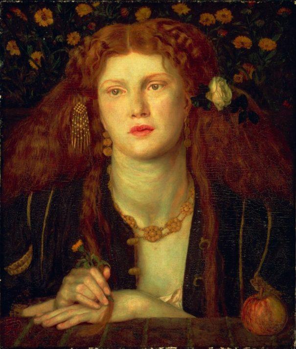 Las mujeres de la hermandad prerrafaelita: Fanny Cornforth