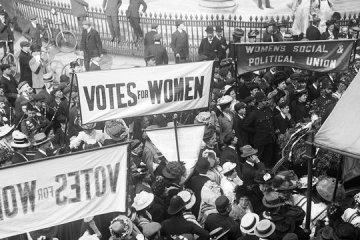 sufragista 1 - Mujeres victorianas | Sufragistas #1