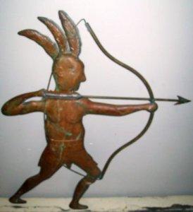 محارب  من الهنود الحمر