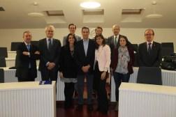 Con Indalecio y mentores