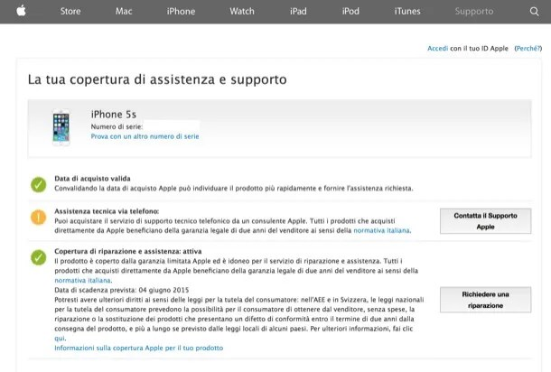 Verificare iPhone rubato