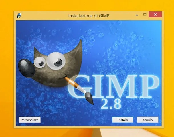 Скриншот GIMP
