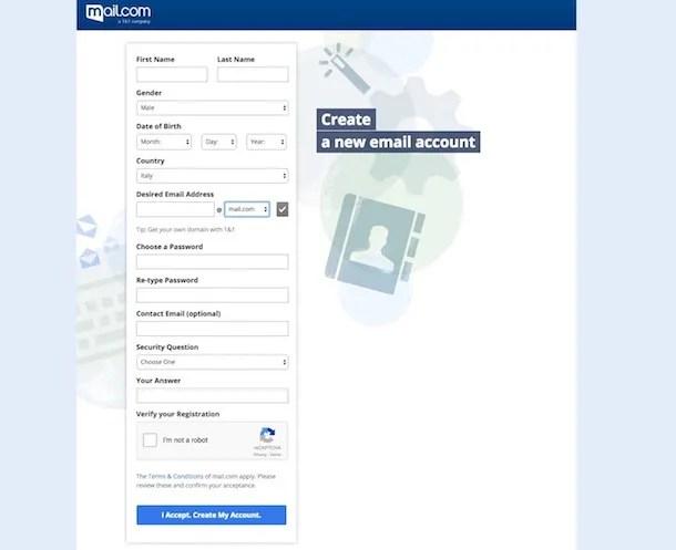 Come creare un indirizzo email gratis
