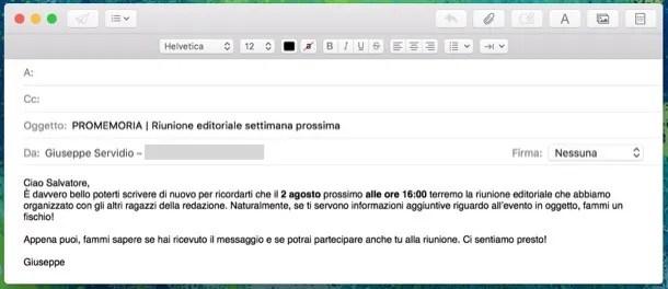 Come Scrivere Una Mail Di Reminder Salvatore Aranzulla