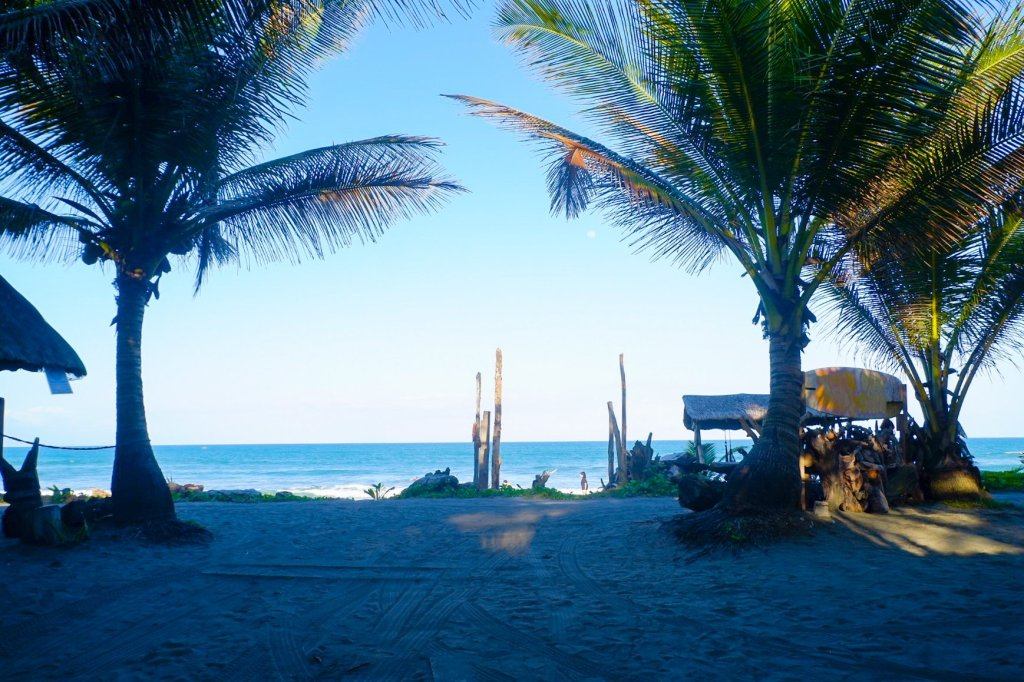 """ALT=""""the beach front view at balituk"""""""