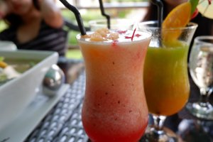 """ALT=""""this wintermelon shake can be tried at mons restaurant"""""""