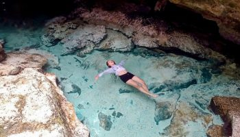 """ALT=""""bantayan island and ogtong cave with clear waters"""""""