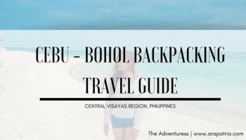 cebu bohol diy trravel guide blog