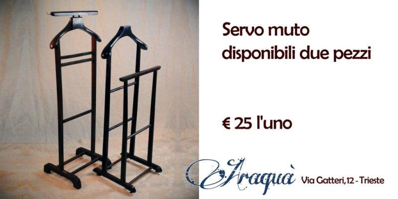 Servo muto disponibili due pezzi - € 25 l'uno