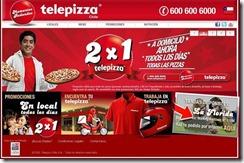 Telepizza lanza canal de ventas online en Chile