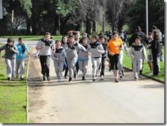 Masiva participación de escolares en primera fecha del Cross Country