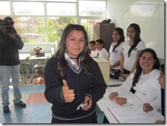 Con estrecho margen de votos el Liceo Tiburcio Saavedra eligió a su alcalde