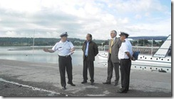 Alcalde Astete afinó detalles con Capitanía de Puerto para próxima temporada estival