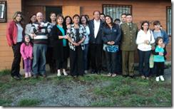 Comité de Mejoramiento Térmico de Los Copihues del Volcán en Villarrica celebró culminación de proyecto
