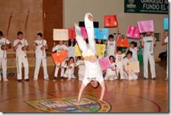 Gala deportiva reunió a cientos de niños y adolescentes de Temuco