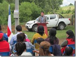 Inauguración electrificación rural T.S 2