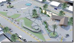 plaza curarrehue