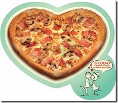 Foto Pizza Corazón