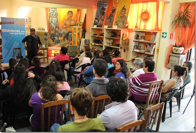 FOTO charla elicura chihuailaf 1