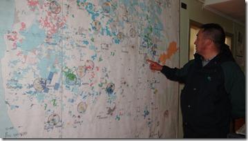 mapeo de la región