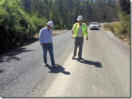Director regional de Vialidad efectuó visita de inspección en Camino Lautaro – La Colonia (4)