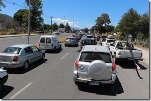 FOTO congestión vehicular pucón 3