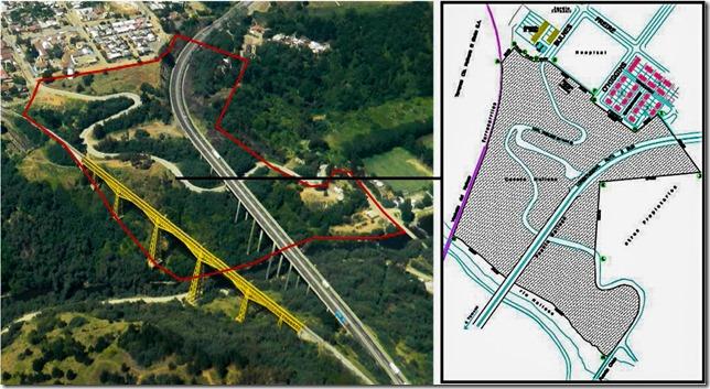 Mapa y plano perimetro de intervención