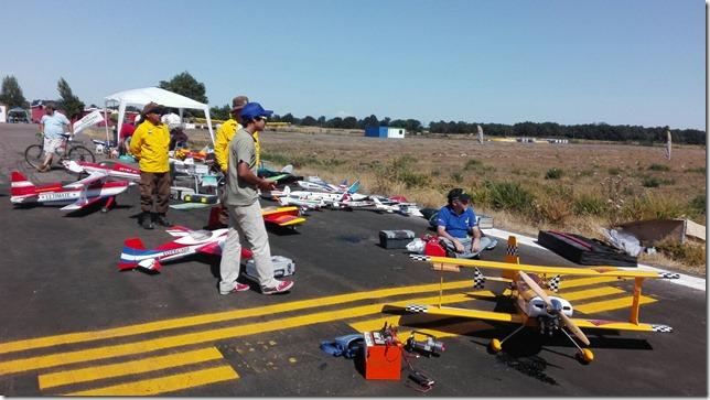 Primer Encuentro de Aeromodelismo organizado por Federación Chilena de la especialidad en Victoria (2)