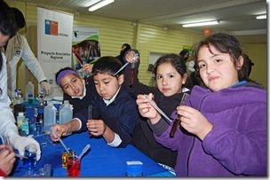 Pedagogía en Ciencias en Acción Cunco Chico 1